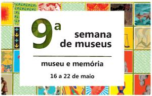 9a. Semana de Museus - logo