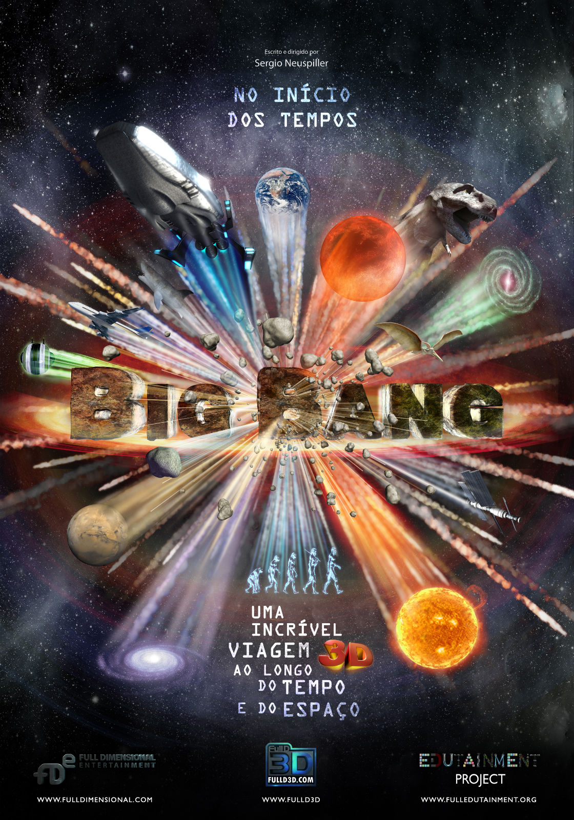 cartaz Big Bang 3d
